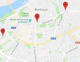 Mapa De Badajoz Capital.Habitat Inmobiliaria S A Tu Inmobiliaria En Badajoz