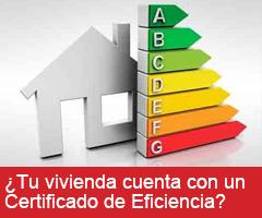 ¿Tu vivienda cuenta con un Certificado de Eficiencia Energética?
